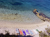 Zavala, island Hvar, Croatia