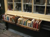 flower box bookshelf
