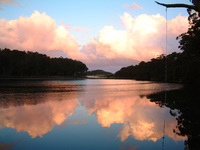 Reflected Clouds