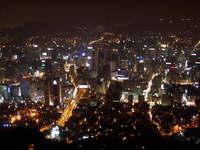 seoul city night scene 1