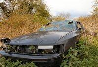 Derelict car