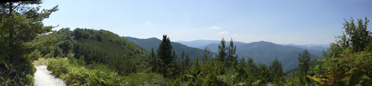 Rhodope Mountains Panorama