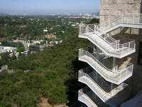 Getty Museum Stairs