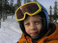 happy skier(s) 12