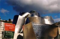 Guggenheim Under Clouds (b)