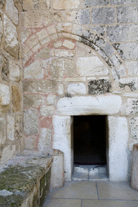 Entrance to the Church of the Nativity, Bethlehem