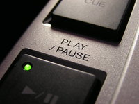play/pause pioneer cdj-100