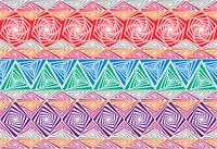 Texture illusions
