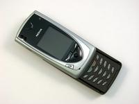 Nokia 7650 opened