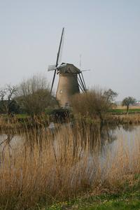 Dutch Windmill at Kinderdijk #5 2