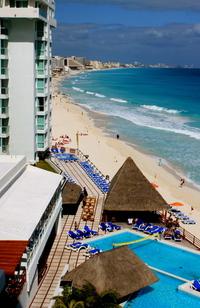 Cancun Beach Strip
