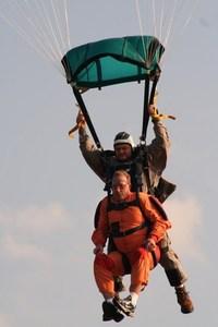 Tandem Skydive Landing 1