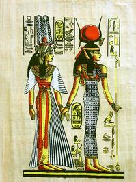 Egipt - hieroglyph, papyrus