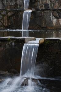 Water fountain cascade