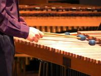 Marimba w/ 4 mallets