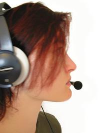 headset model female 5