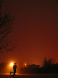 Night,Dark,Goth,Black,Weather,Sky,Red,Blood,Man,Guy,Mystery,Mysterious,Mist,Fog,Foggy,Rain,Night,Nig