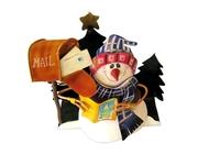Postal Snowman