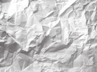 Wrinkled Crumpled Paper