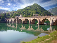 bridge of visegrad