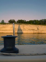 Sunset Sail Shadow