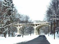 Aqueduct in Winter