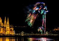 Budapest, fireworks
