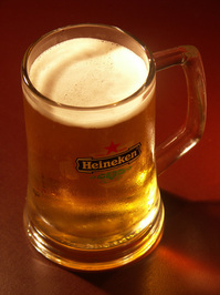 A cold beer, waiting for me