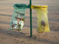 public bin for recycling