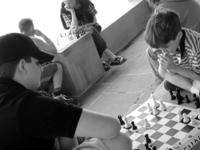 Chess is pure thinking