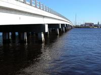 PERSPECTIVE IMAGE OF A BRIDGE IN SWANSBORO, NC
