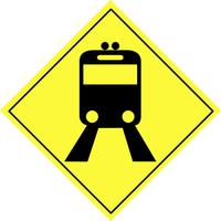 Traffic warning sign 7