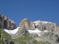 mountains of the Dolomites
