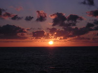 Sunset in Saint Sebastian
