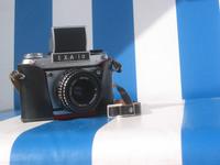 old camera Exa 1a, 1