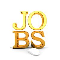 Online jobs concept