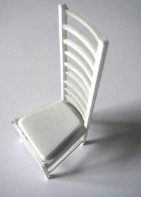 Mckintosh high back chair