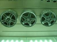 Mercedes hubcaps