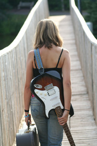 Guitar Girl 1
