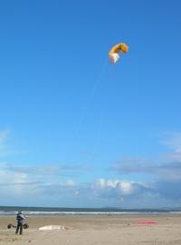 Kite buggying 4