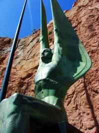 Memorial Angel Statue