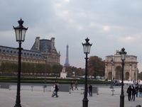 Louvre, Eiffel Tower