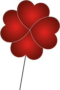 Red Hearts Valentine' Day 3