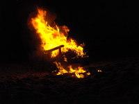 Burning Chair