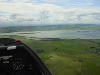 Gliding near Kinross in Scotland 8