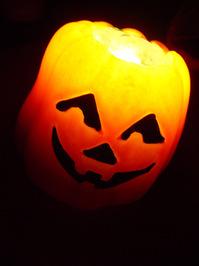 Halloween pumpkin smiling 2