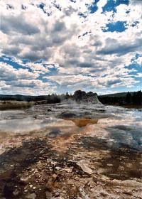 old geyser