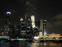 Singapore's Night (Marina View