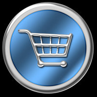 Blue & Chrome Website Buttons