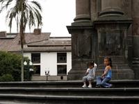 Two Ecuadorian girls